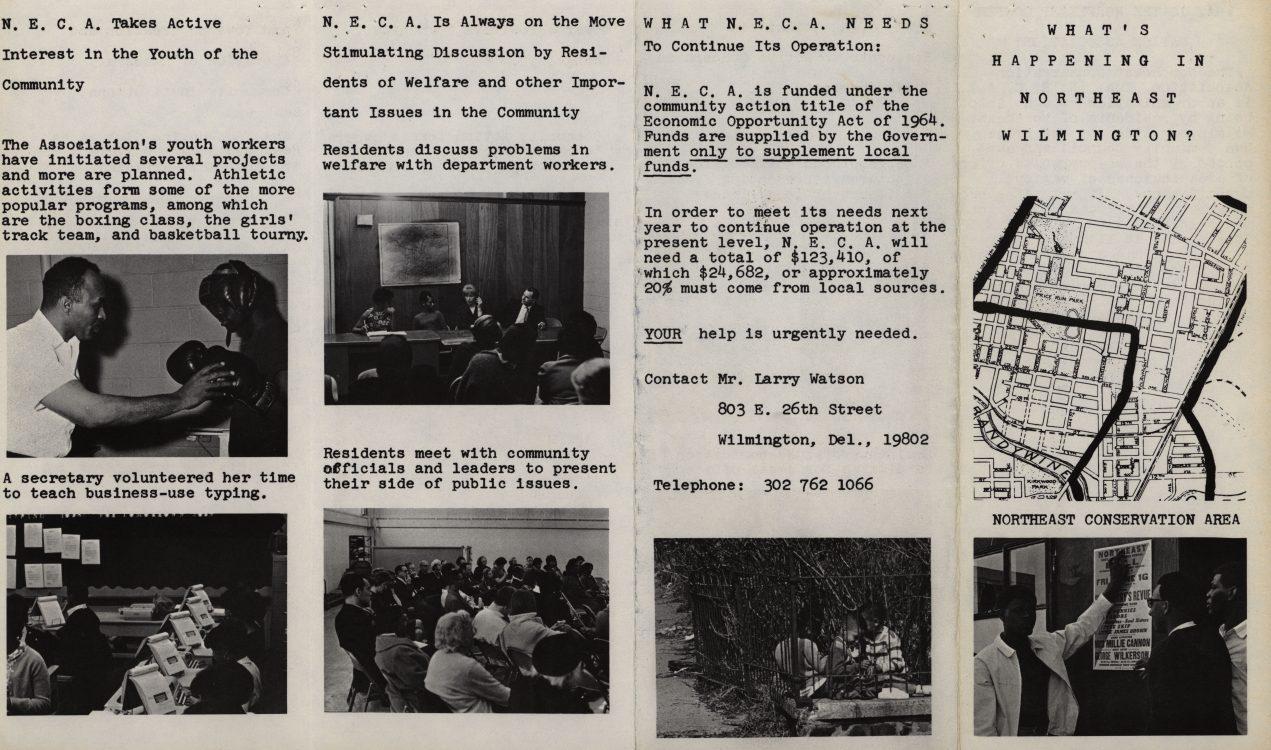 What's Happening in Northeast Wilmington? (brochure), circa 1967