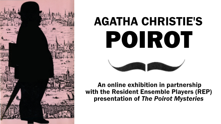 Slider for Agatha Christie's Poirot online exhibition