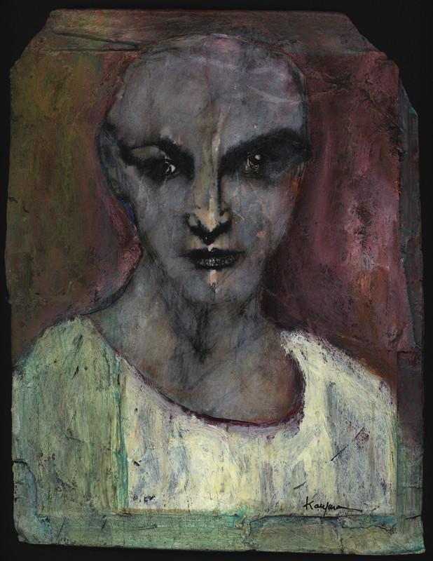 Untitled painting (3), undated