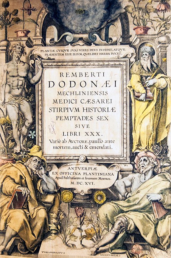 Stirpium Historiae Pemptades Sex