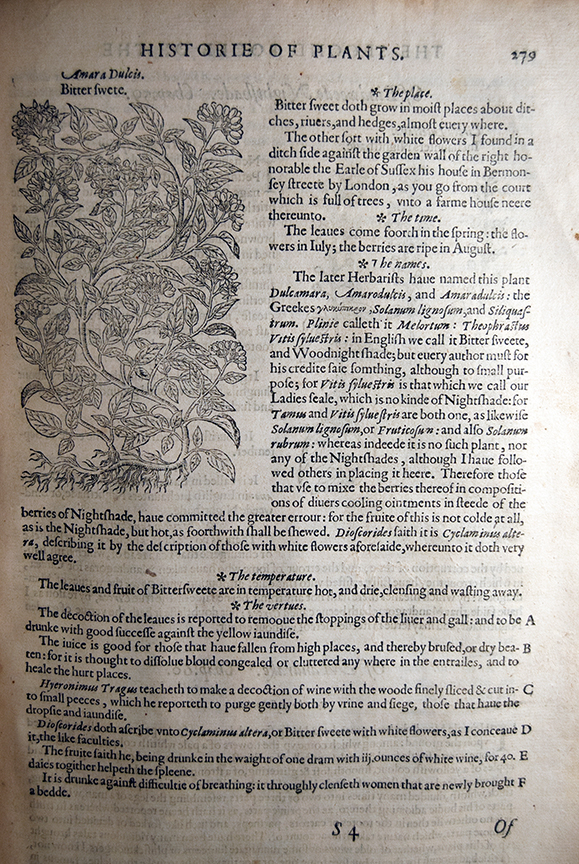 The Herbal; Or, General Historie of Plantes