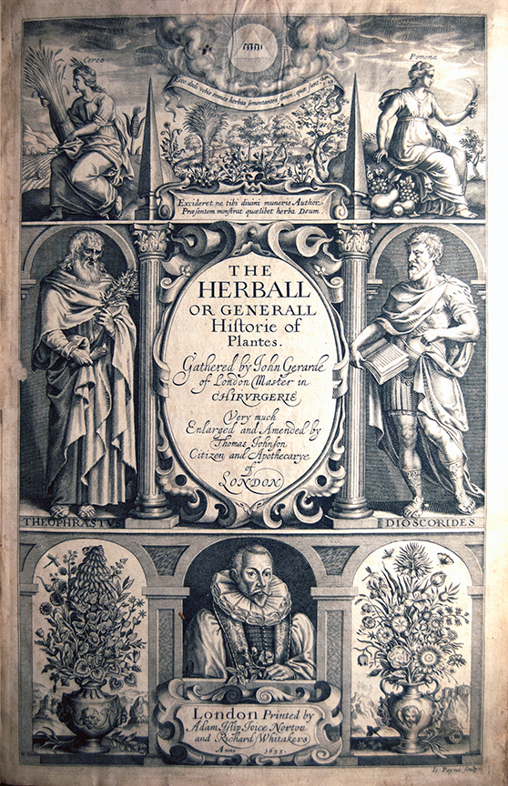 The Herball or Generall Historie of Plantes…Very Much Enlarged and Amended by Thomas Johnson