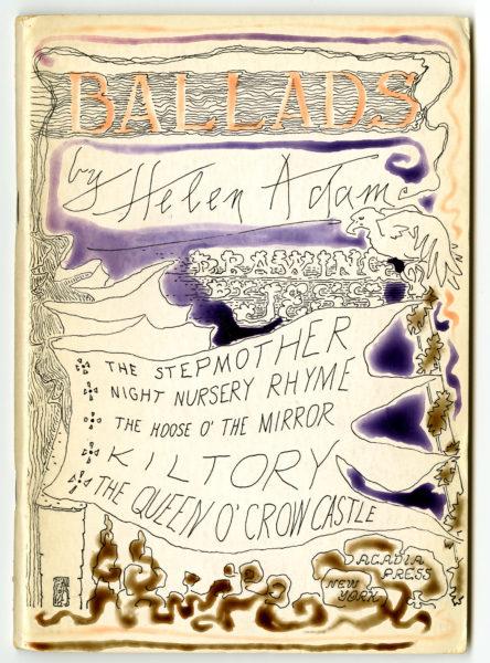 Helen Adam. Ballads, 1964.