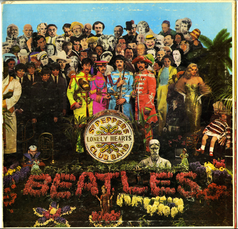 Beatles. Sgt. Pepper's Lonely Hearts Club Band, 1967
