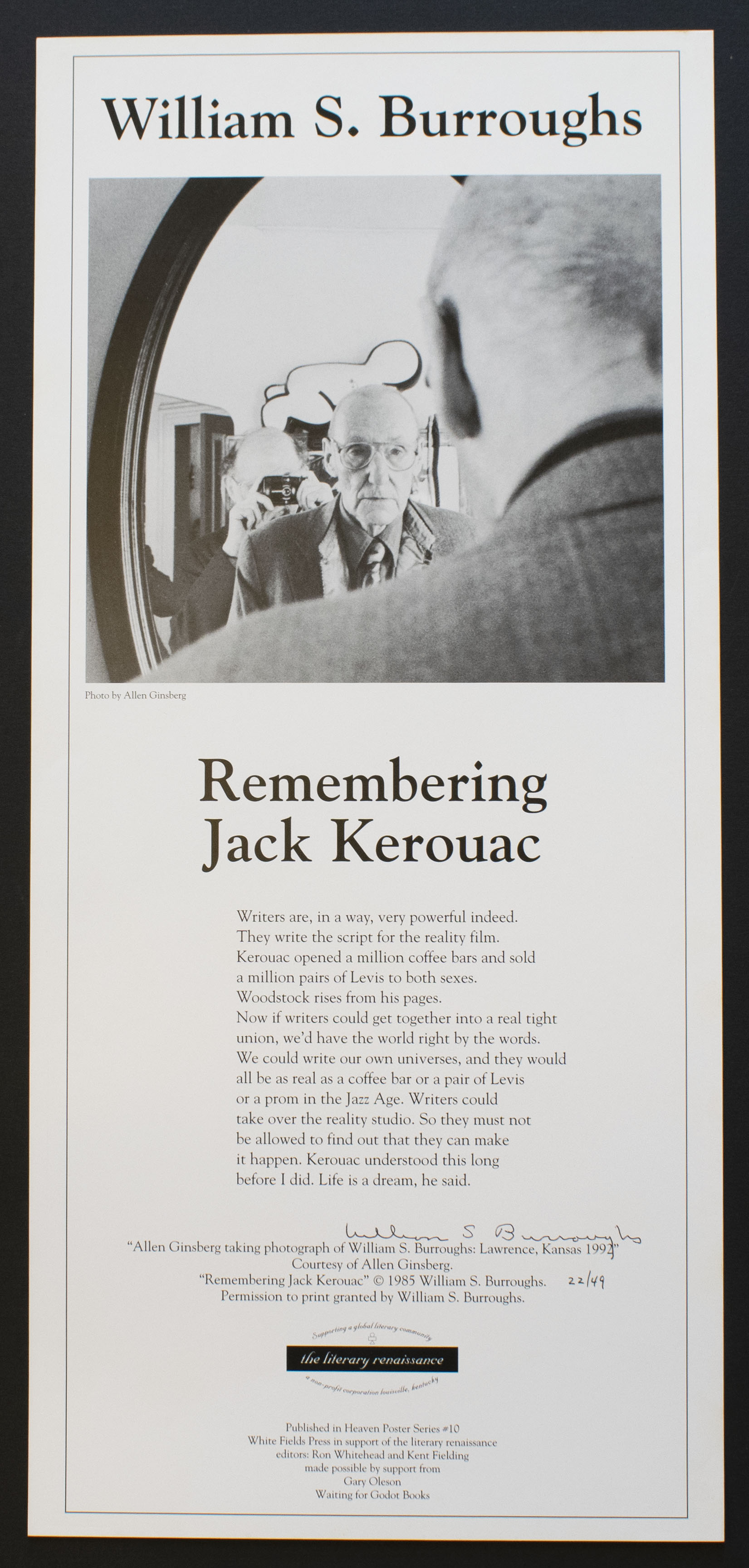Remembering Jack Kerouac, 1994
