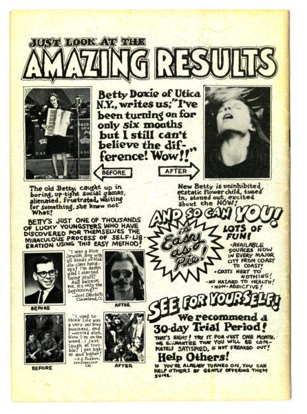 Robert Crumb. Zap Comix, no. 1, 1968