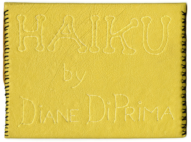 Diane di Prima and George Herms. Haiku, 1966. (2)