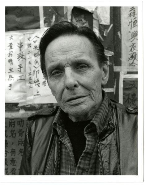Christopher Felver (American, b. 1946). Herbert Huncke, 1985.