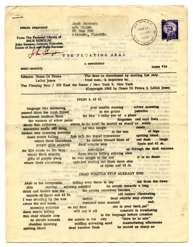 Floating Bear number 24 (September- October 1962)