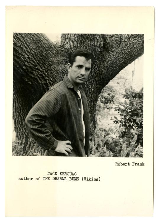 Robert Frank (American, b. Switzerland, b.1924). Jack Kerouac, Orlando, Florida. 1958