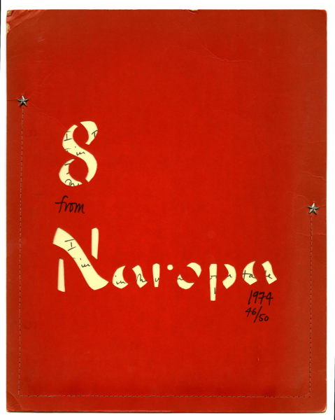 8 from Naropa, 1974