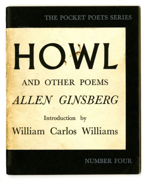 Allen Ginsberg. Howl and Other Poems. City Lights Books: San Francisco. 1956.