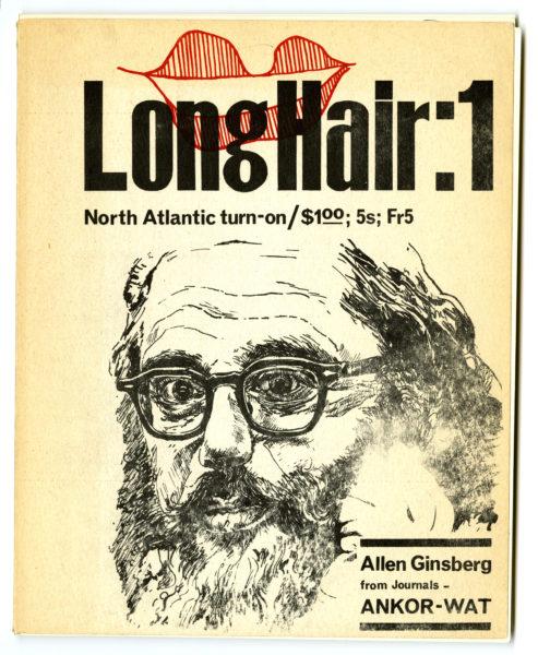 Long hair magazine, 1965 Lovebooks Ltd., London.