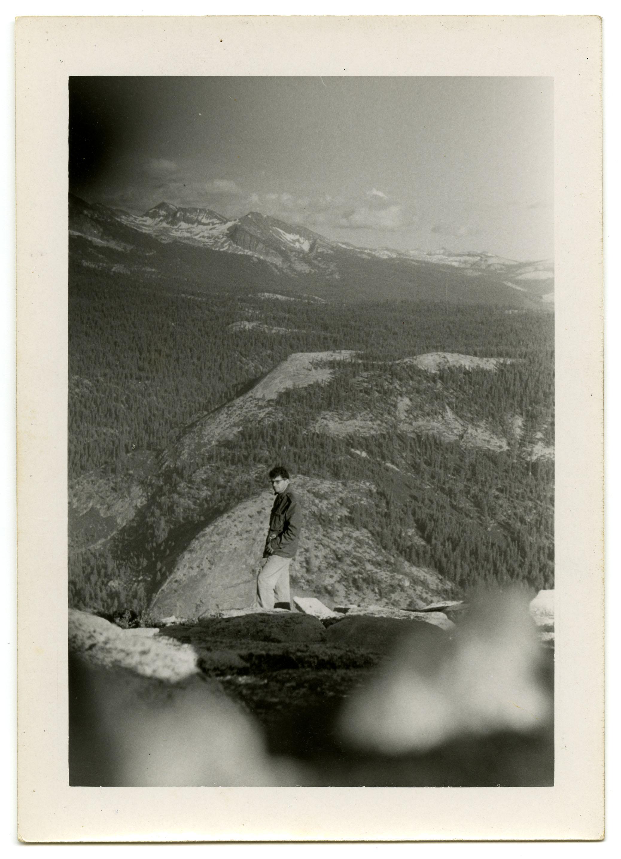 Allen Ginsberg and Peter Orlovsky. [Ginsberg and Orlovsky at Yosemite], 1956. (1)