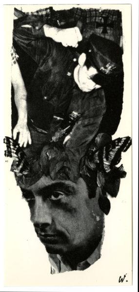 Wallace Berman [Lenny Bruce], from Semina 8, 1963.