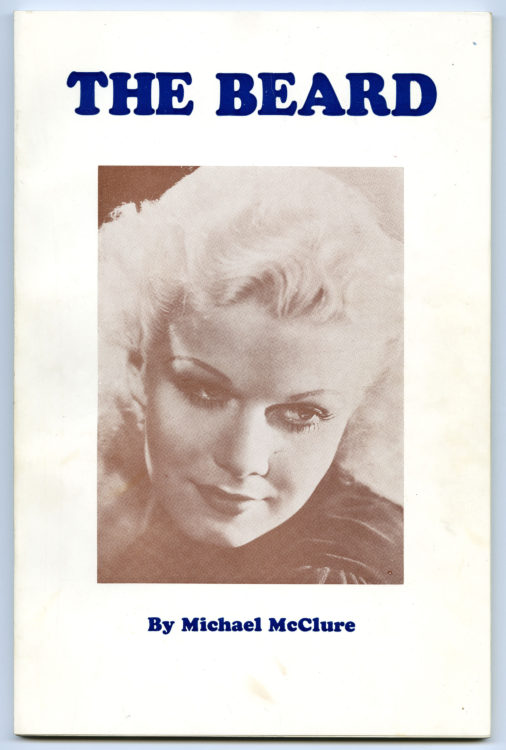 Michael McClure. The Beard, 1965