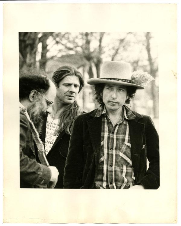 Ken Regan (American, c. 1940 – 2012) At Kerouac's Grave, Lowell, Mass., 1976