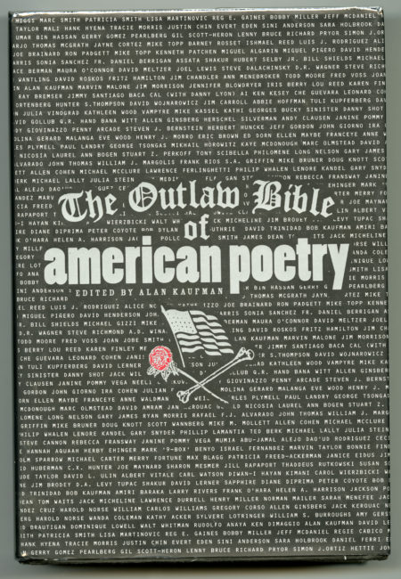 Alan Kaufman, ed. The Outlaw Bible of American Poetry, 1999 (1)
