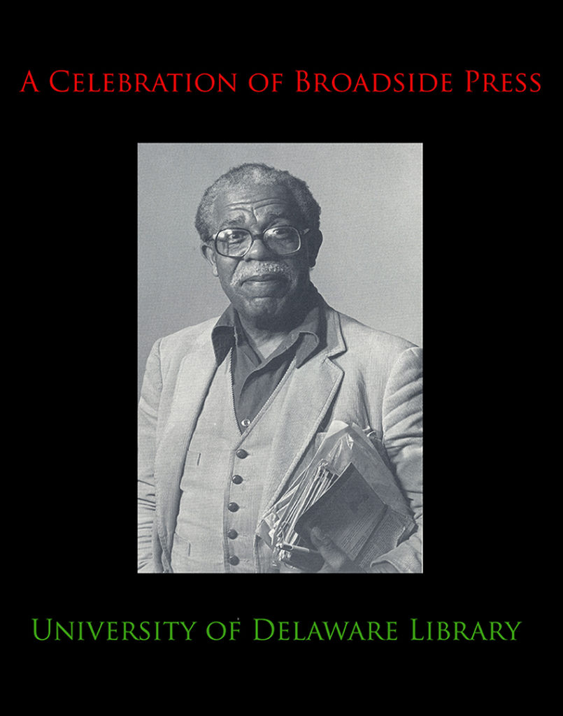 "Cover image for ""A Celebration of Broadside Press"" exhibition"