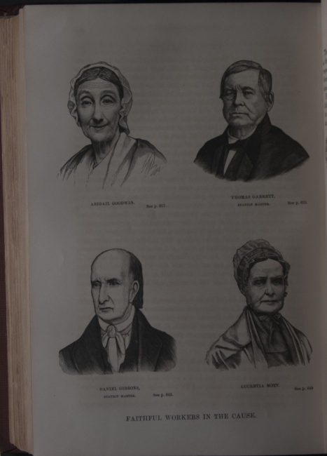 William Still (1821-1902). The Underground Rail Road: A Record of Facts, Authentic Narratives, Letters, &c., Narrating the Hardships, Hair-Breadth Escapes, and Death Struggles of the Slaves in Their Efforts for Freedom, As Related by Themselves and Others or Witnessed by the Author : Together with Sketches of Some of the Largest Stockholders and Most Liberal Aiders and Advisers of the Road. Philadelphia: Porter & Coates, 1872