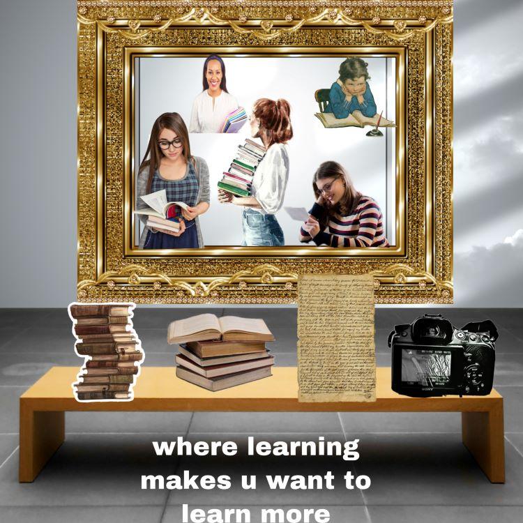 "Sanjana Thamada. ""Where Learning Makes U Want to Learn More,"" digital artwork, 2020."