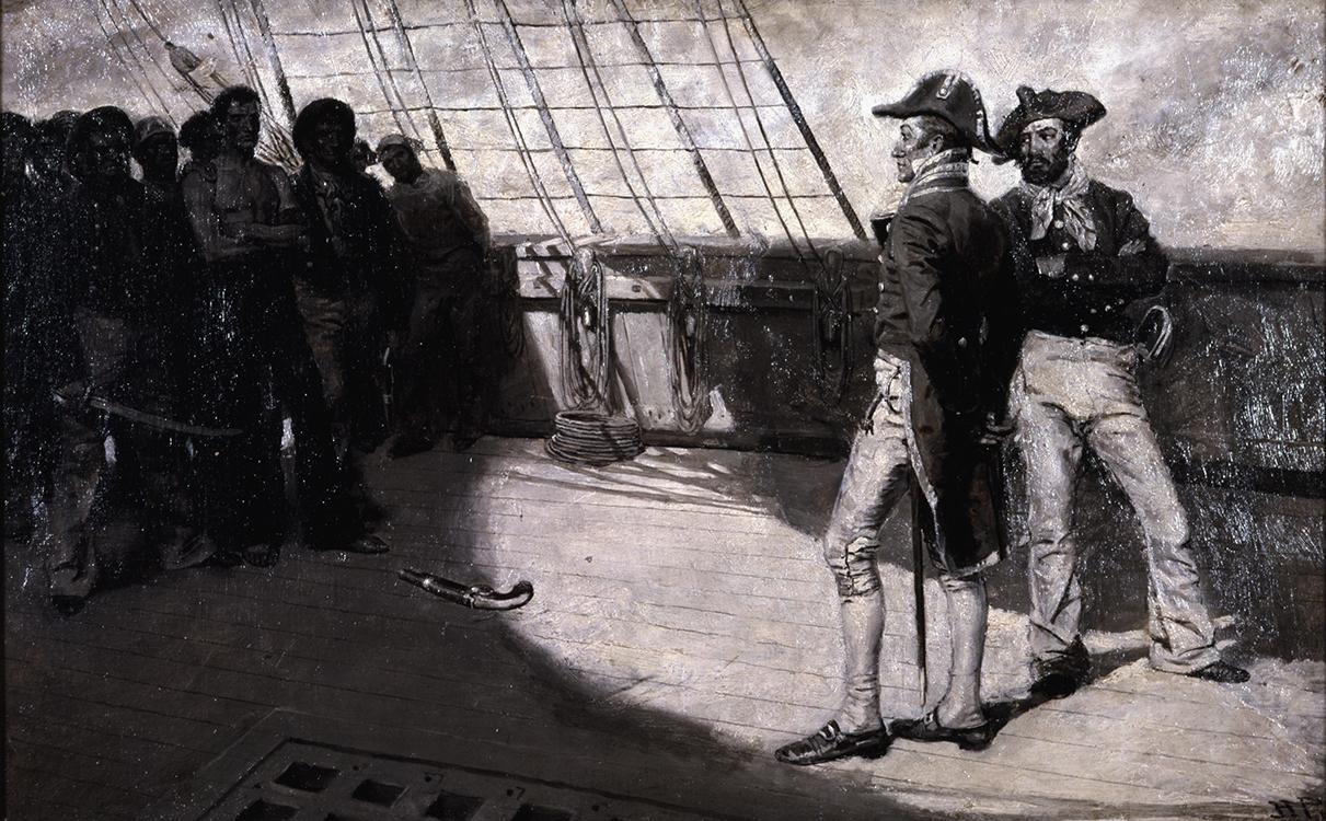 Impressment of American Seamen (or Mutiny), 1884