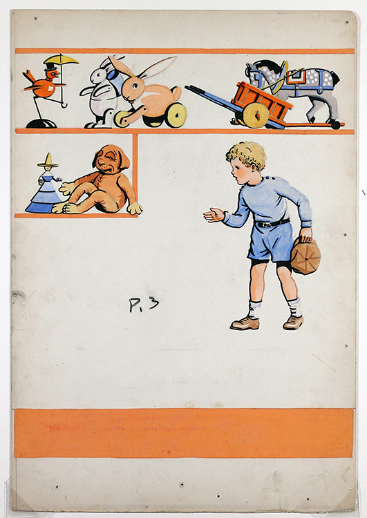 Toys – Jerry saw toys and toys and toys, 1936