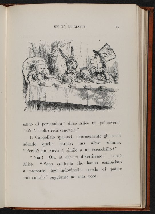 [Mad Hatter's Tea Party], originally 1865
