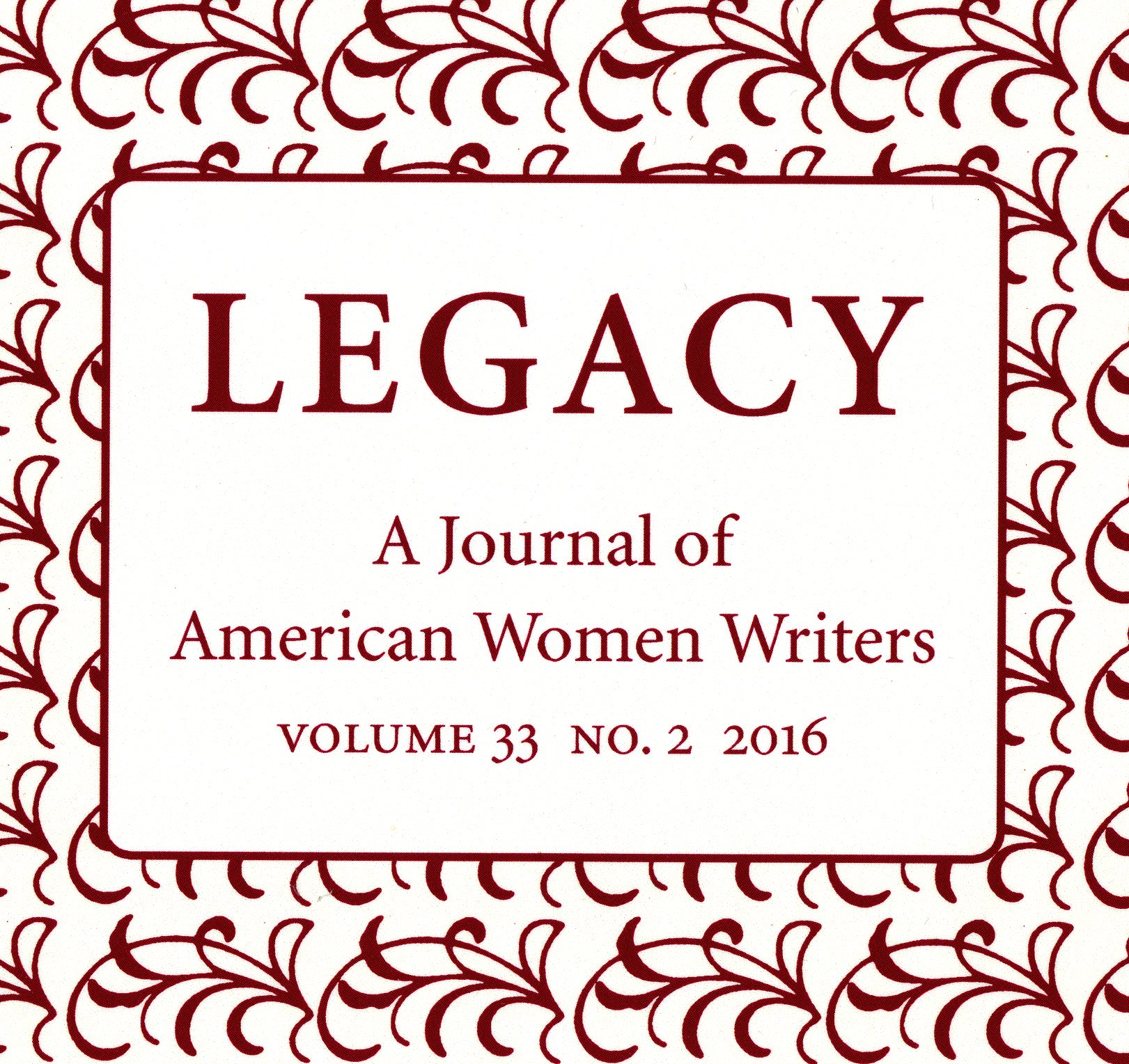 """Adams, Katherine, et al. """"Reflections on the Archive."""" Legacy: A Journal of American Women Writers. Special Issue: Recovering Alice Dunbar-Nelson for the Twenty-First Century. Lincoln, Neb.: University of Nebraska Press, 2016"""
