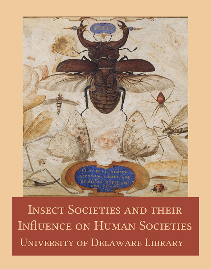 "Poster for ""Insect Societies and Their Influence on Human Societies"""