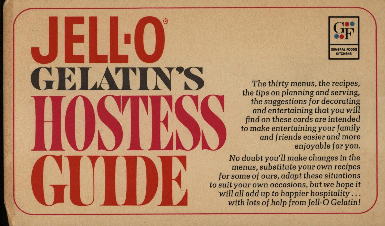 """Introduction,""Jell-O Gelatin Hostess Guide"