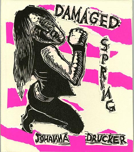 Drucker, Johanna. Damaged Spring: Pink Noire. [Charlottesville, Va.]: [Johanna Drucker], 2003.