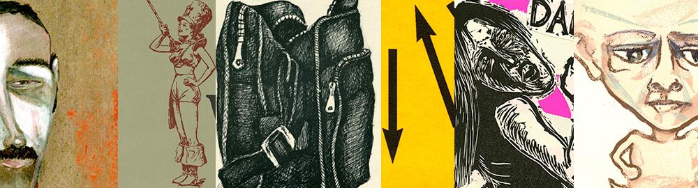 Sample of Johanna Drucker book artworks
