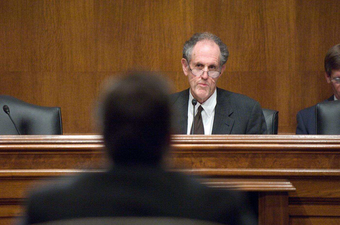 Photograph of Senate Judiciary Committee hearing, 2009 December 9