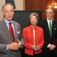 Thumbnail: Photograph of Senator Tom Carper at Kaufman's swearing-in reception, 2009 January 16