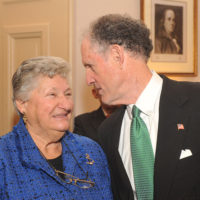 Thumbnail: Photograph of Governor Ruth Ann Minner and Senator Ted Kaufman, 2009 January 16
