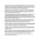 Thumbnail: Ted Kaufman statement on his appointment to the U.S. Senate, 2008 November 24