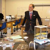Thumbnail: Photograph of Senator Kaufman at St. Georges Technical High School, 2010 January 8 (2)