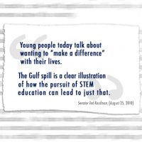 Thumbnail: Excerpt from BP Deepwater Horizon explosion and oil spill op-ed, 2010 October 1