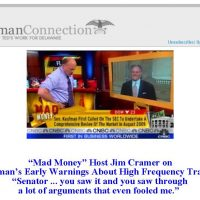 """Thumbnail: Excerpt from """"Mad Money,"""" Kaufman Connection, 2010 May 26"""