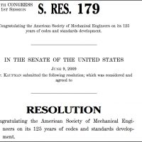 Thumbnail: Excerpt from Senate Resolution 179, 2009 June 9