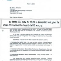 Thumbnail: Letter to SEC Chairman Mary Schapiro, 2009 March 3