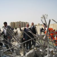 Thumbnail: Photograph of Baghdad bombings, 2009 August