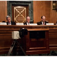 Thumbnail: Photograph of Congressional Oversight Panel hearing, circa 2010 October – 2011 March