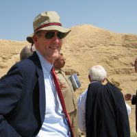 Thumbnail: Photograph of Senator Kaufman in the West Bank city of Jericho, 2009 May