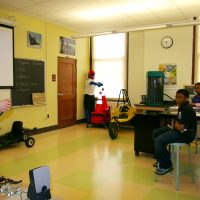 Thumbnail: Photograph of Senator Ted Kaufman at P.S. duPont Middle School, 2010 March 1
