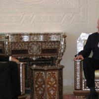 Thumbnail: Photograph with Syrian President Bashar Al-Assad, 2009 May