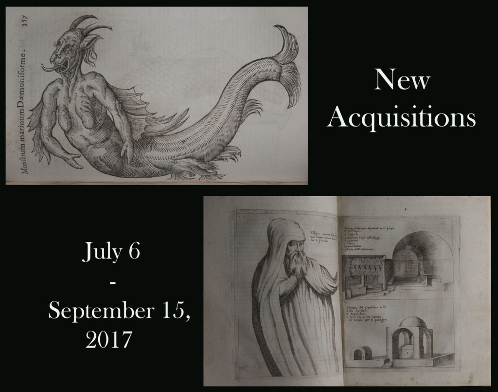 "Poster for ""New Acquisitions"" (2017) exhibition"