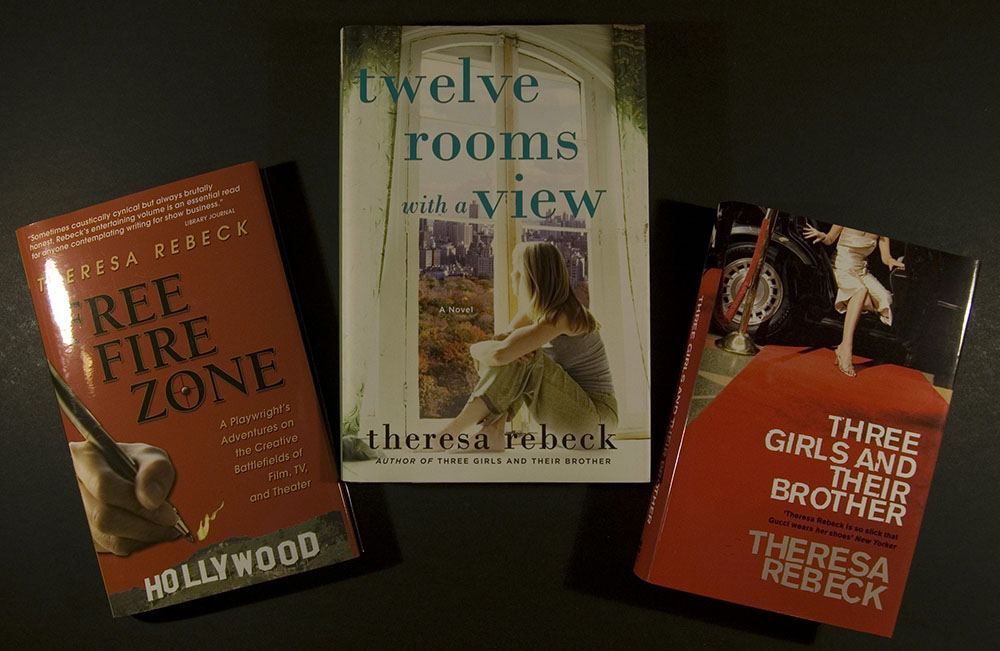Non-fiction and fiction books by Theresa Rebeck, 2007-2010