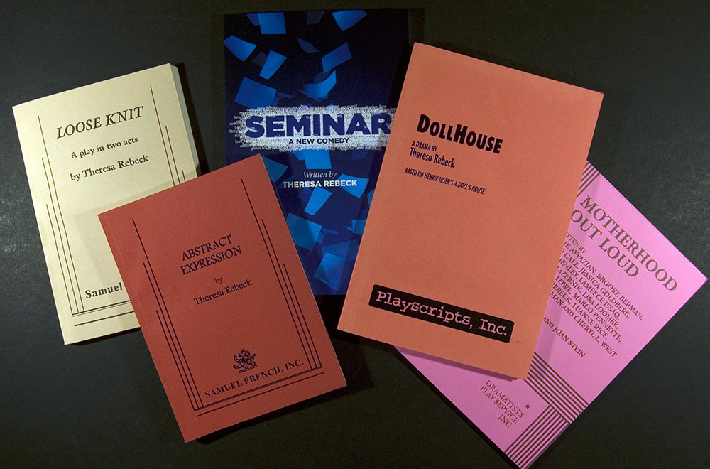 Selection of Theresa Rebeck's play scripts, undated